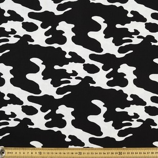Cow Print Cotton Fabric