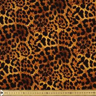 Jaguar Print Cotton Fabric