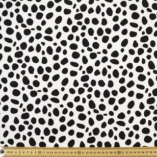 Dalmatian Print Cotton Fabric