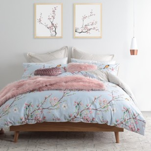 Logan & Mason Ying Blossom Quilt Cover Set