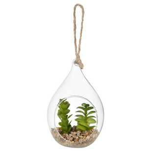 Bouclair Organic Feels Hanging Terrarium