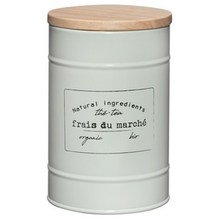 Bouclair Organic Feels Metal Tea Cannister