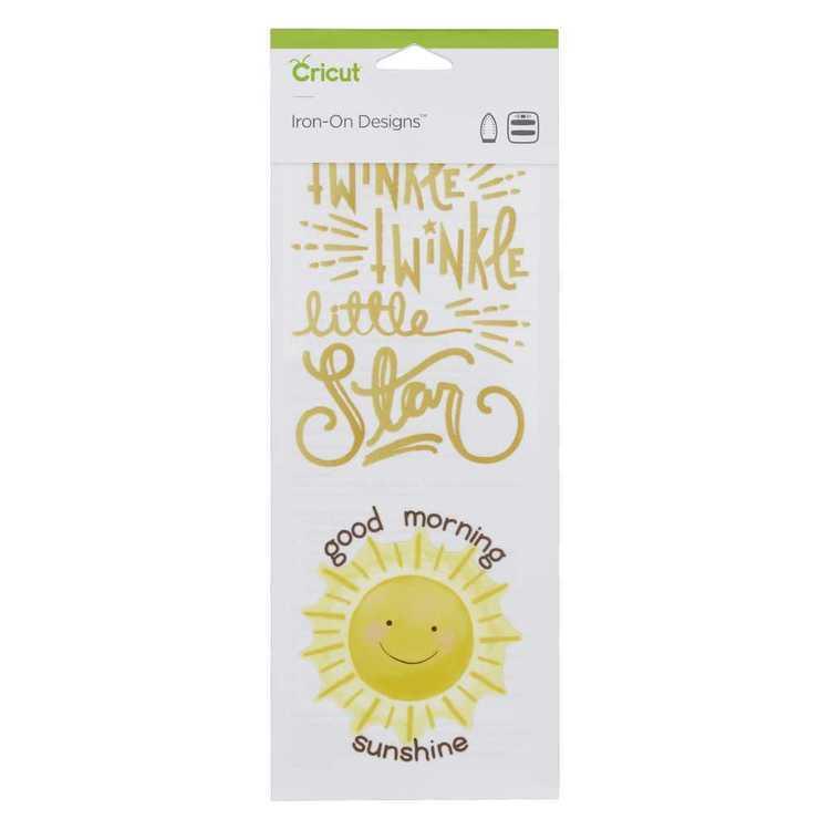 Cricut Iron-On Twinkle Sunshine Designs