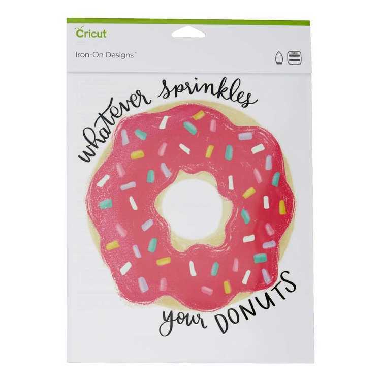 Cricut Iron-On Sprinkles Ur Donut Designs