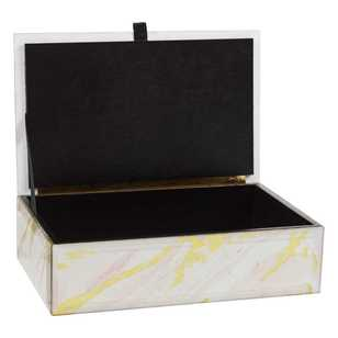 Ombre Home Radiant Mineral Trinket Box