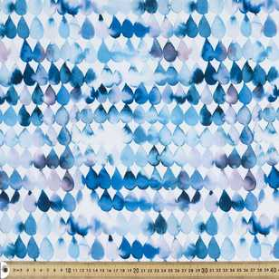 Ninola Digital Raindrops Cotton Fabric