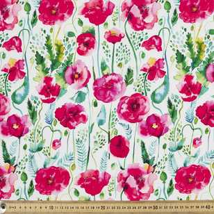 Ninola Digital Poppies Cotton Fabric