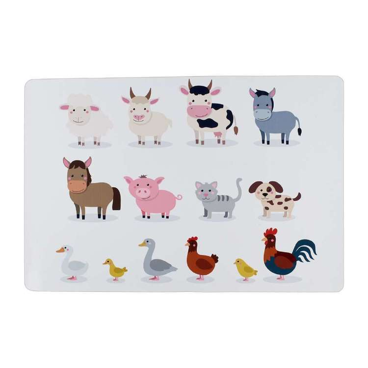 PVC Farmyard Placemat