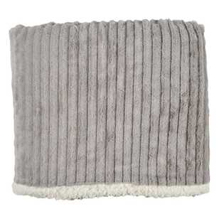 Ombre Home Radiant Mineral Sherpa Throw