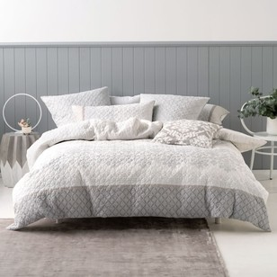 Mod By Linen House Pettino Quilt Cover Set