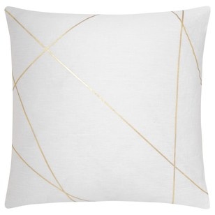 Bouclair Modern Chic Stricto Foil Cushion