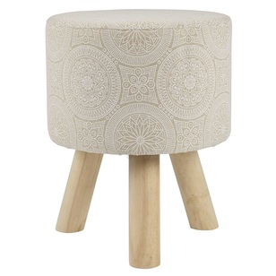 Ombre Home Tropical Soul Printed Stool