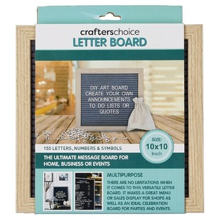 Crafter's Choice 155 Letter Board