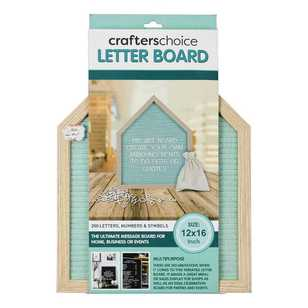 Crafters Choice 200 House Letter Board