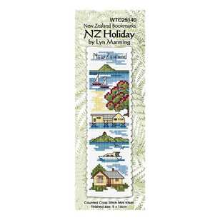 DMC New Zealand Holiday Bookmark Kit
