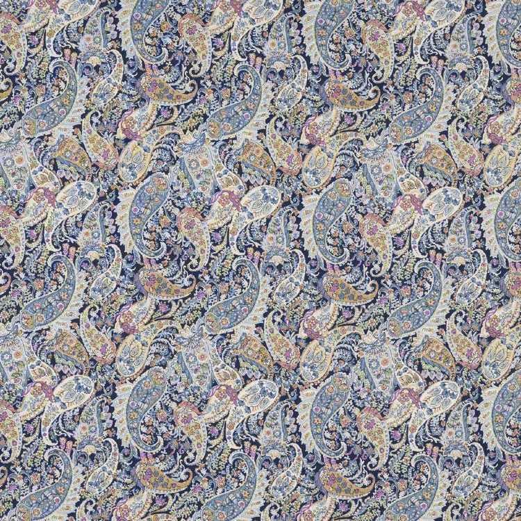 Pretty Paisley Printed Japanese Lawn Fabric