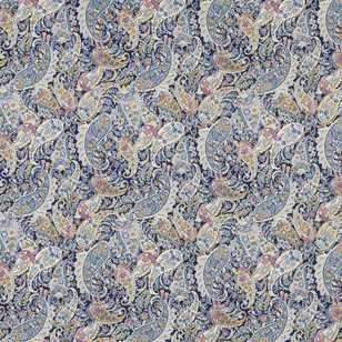 Pretty Paisley Printed Japanese Lawn Fabric