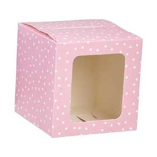 Party Creator Pink Cupcake Box