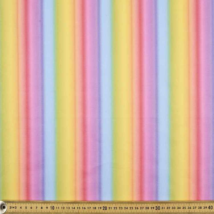 112 cm Spots & Stripes Rainbow Stripe Fabric