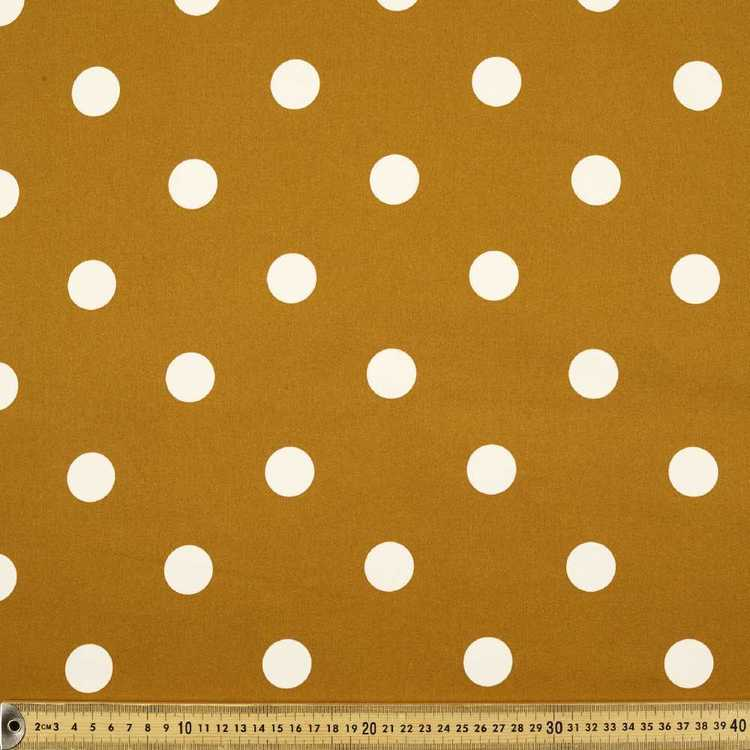 Spot Printed Sateen Fabric