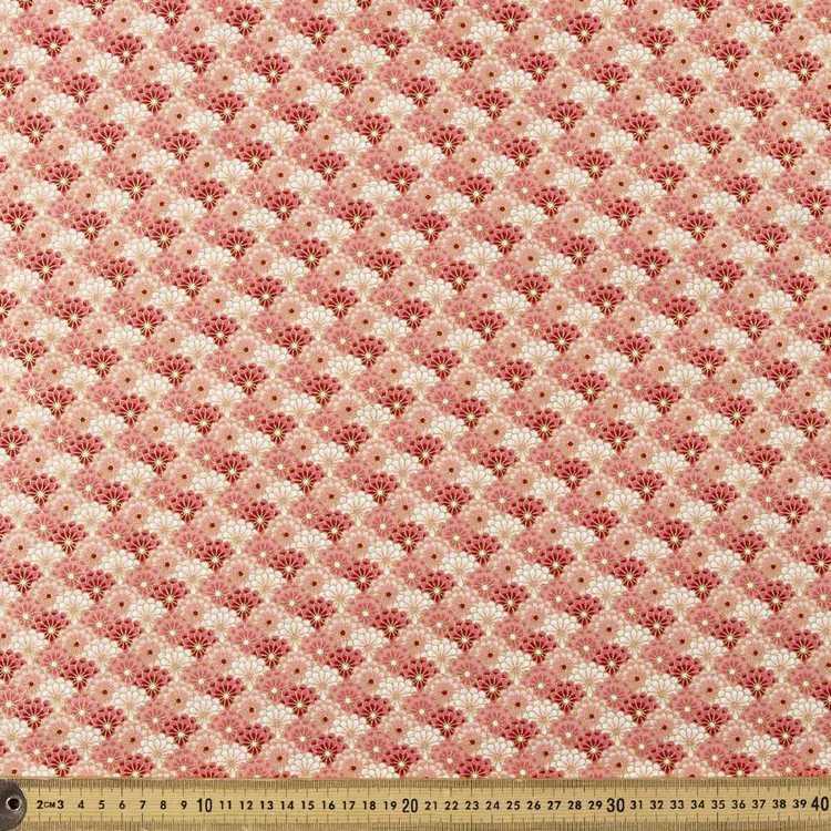 Timeless Treasures Asiana Daisy Cotton Fabric