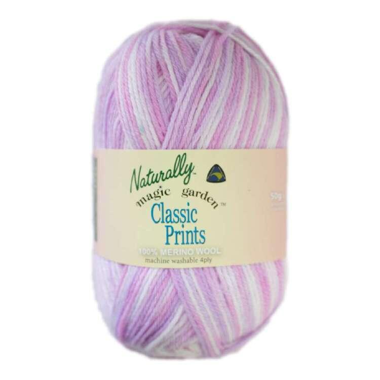 Naturally Classic Printed 4 Ply Wool Yarn