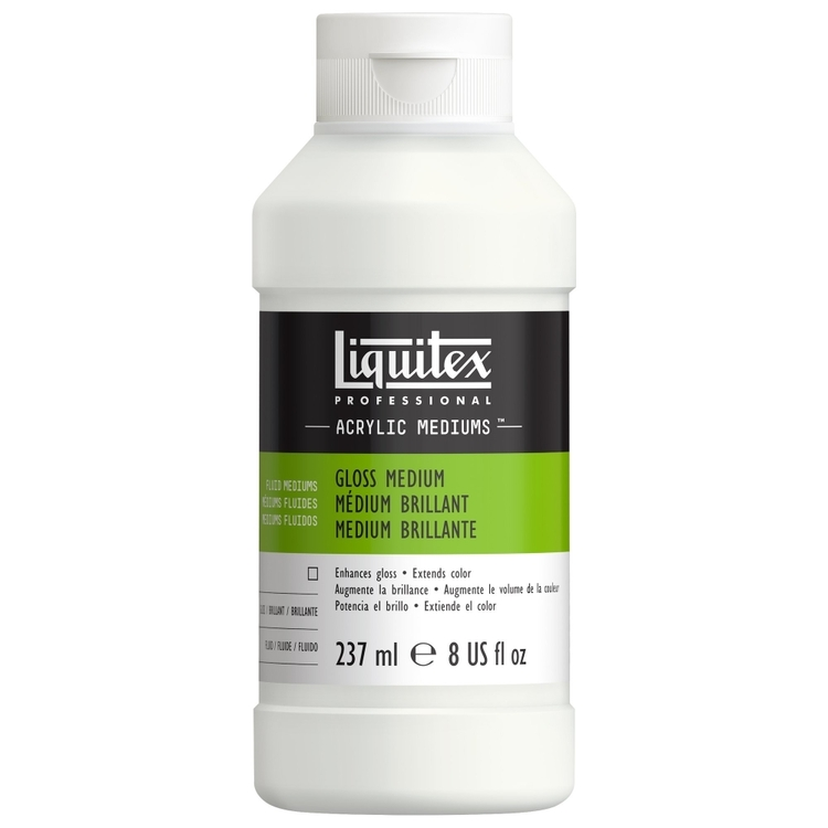 Liquitex Gloss Fluid Medium & Varnish