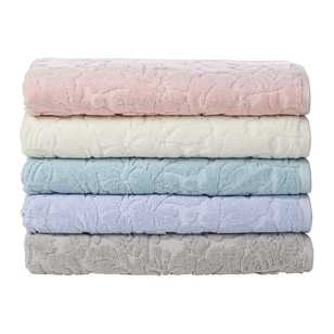 Koo Rose Jacquard Towel Collection