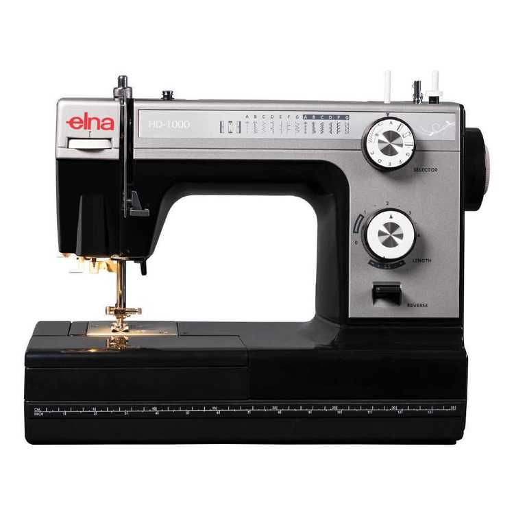 Elna HD1000 Sewing Machine Grey