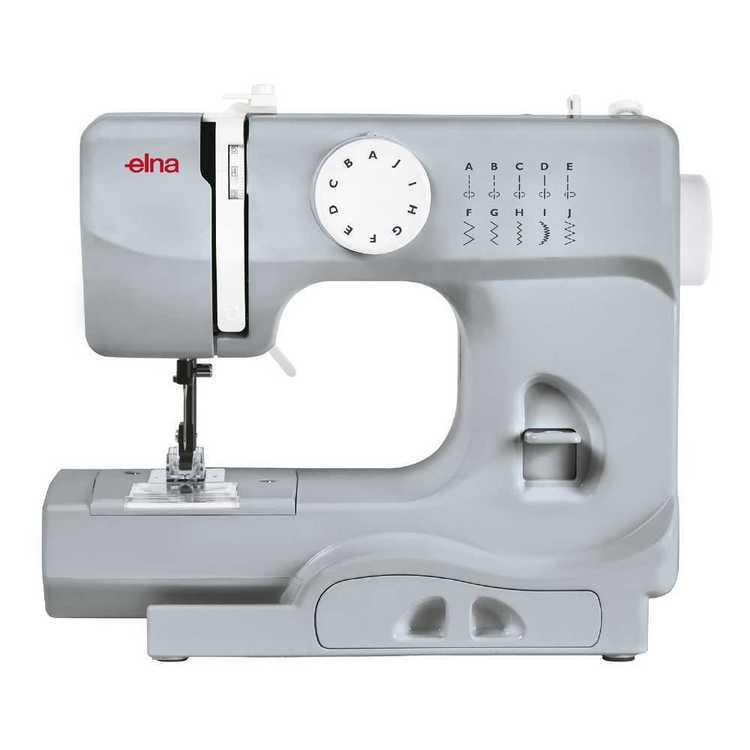 Elna Mini 525 Light Grey Sewing Machine Light Grey