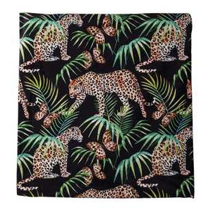KOO Home Emmett Velvet Leopard Throw
