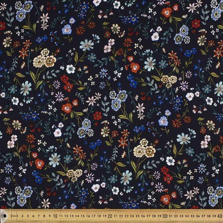Garden Printed Rayon Fabric