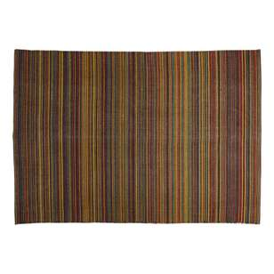 Spotlight Printed Cotton Stripe Rug