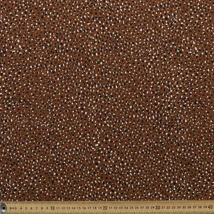 Hail Spot Printed Rayon Fabric