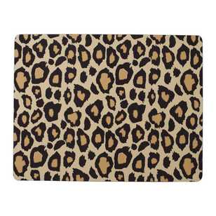 Dine By Ladelle Cleo Leopard Printed Placemat