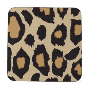 Dine By Ladelle Cleo Leopard Printed Coaster