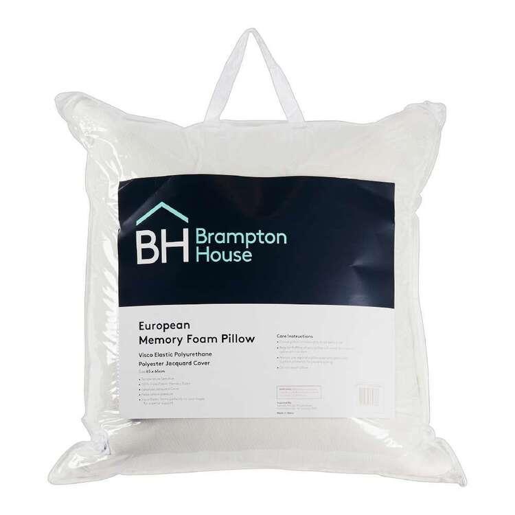 Brampton House European Memory Foam Pillow