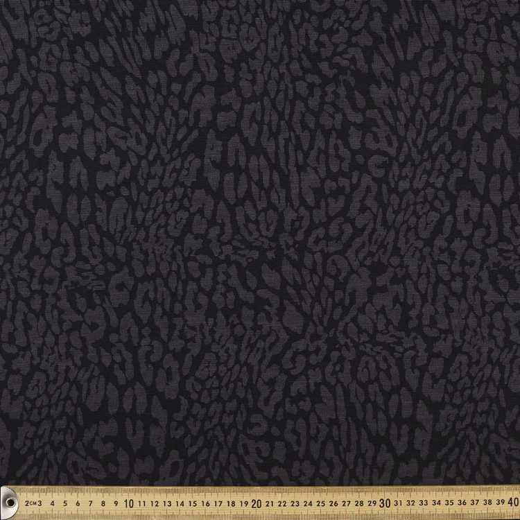 Animal Printed Ponte Fabric