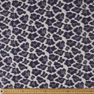 148 cm Animal Printed Brocade Fabric