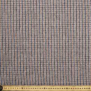 Wool Blended Check Fabric