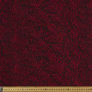 Leopard Printed 135 cm Rayon Fabric