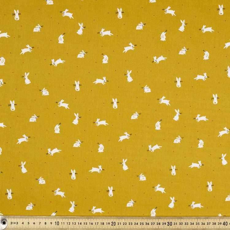 112 cm Whiskers Printed Poplin Fabric