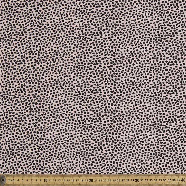 Small Pebble Printed 135 cm Rayon Fabric