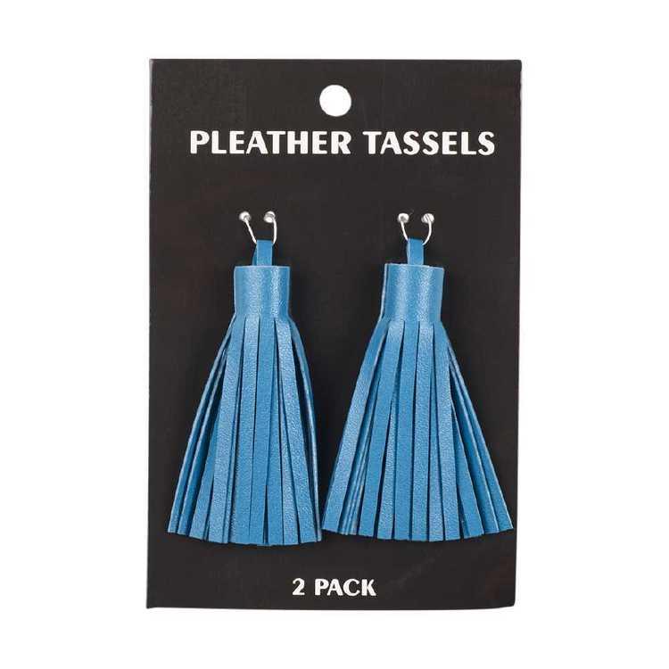 Pleather Tassels