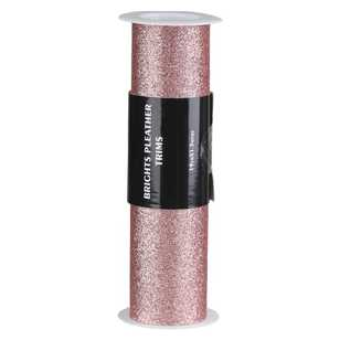 Brights Smooth Glitter Pleather Trim Roll