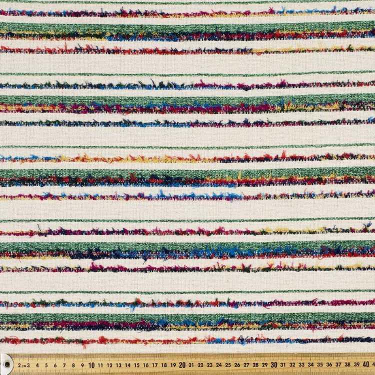 Raised Stripe Mexican Poncho Fabric