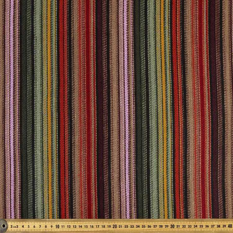 Variegated Stripe Mexican Poncho Fabric