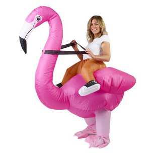 Party Creator Adults Flamingo Inflatable Costume