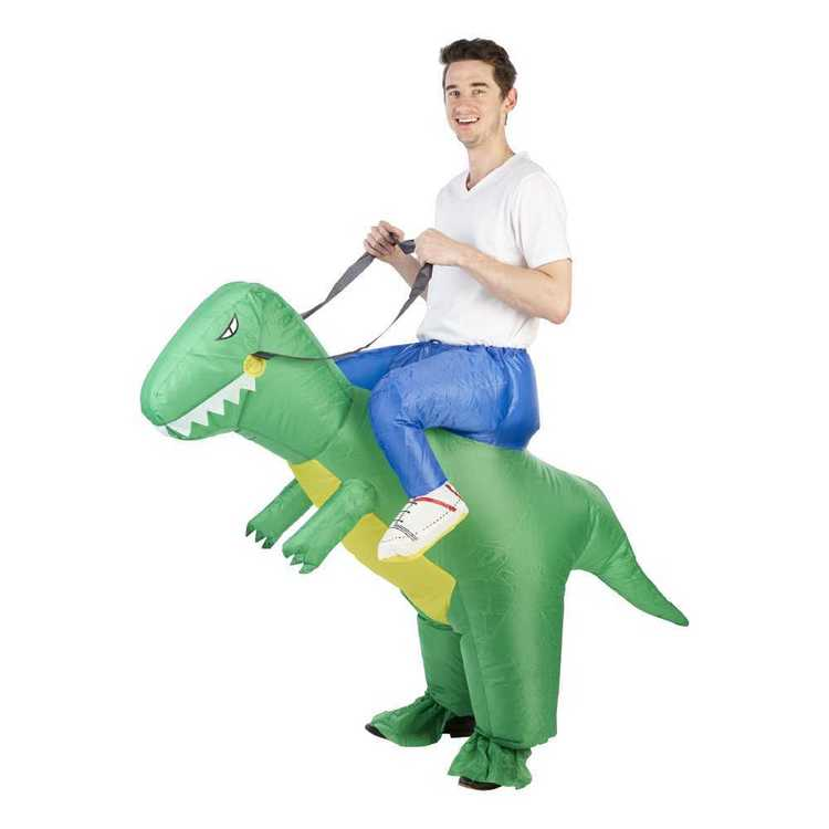 5fe40301987f Party Creator Adults Dinosaur Inflatable Costume