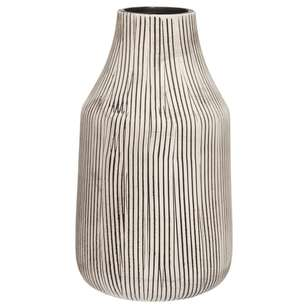 Bouclair Raw Minimal Stripe Vase